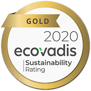 2020 EcoVadis Gold Sustainability Rating