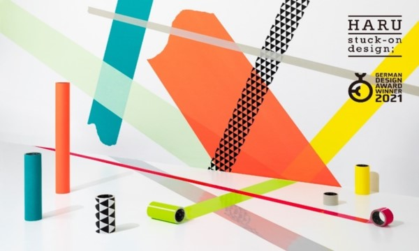 "Space-Decorating Tape Brand ""HARU stuck-on design;"" Wins an International Recognition with a German Design Award 2021"